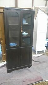 Vintage Display Cabinet - Dresser - China Cupboard - Crockery Cupboard