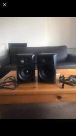 """Pioneer 5"""" studio monitors pair"""