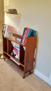 Mid Century Small Record/Book Shelf - FREE DELIVERY