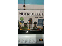 Nutribullet - Metallic magic bullet max 12 piece blender brand new unused in box