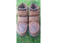 Boy's boots size 12 jnr by Next, brown leather & suede. Super condition.