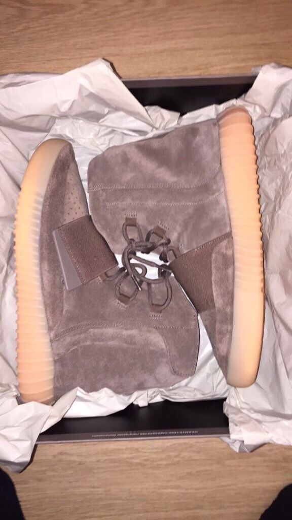 "adidas Yeezy Boost 750 ""LIGHT BROWN UK size 9in Newham, LondonGumtree - Adidas Yeezy boost 750""LIGHT BROWN"" UK size 9 Brand new Deadstock Adidas Originals receipt included. Bank transfer or cash upon collection. Based in east London. Any questions call or text 07398326367"