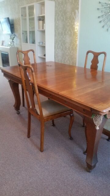 Snooker Table Chairs Antique E J Riley 700 In Beeston