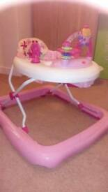 Fisher Price pink baby walker