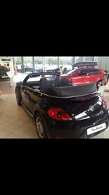 VW Beetle roof cover (when down)