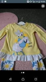 9-12 months Daisy Duck set