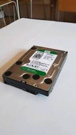 "Western Digital Green Hard Disk. 4TB / 64MB, 7200 RPM,8.89 cm (3.5"") (WD40EZRX - 00SPEB0)"