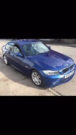 2010 BMW 320I M-SPORT BLUE PETROL 170BHP LOVELY MACHINE TOP OF THE RANGE BMW PRICED FOR QUICK SALE