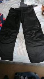 Dainese goretex trousers