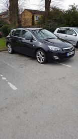 Vauxhall Astra 1.4 Sri, Black, Manual, 56000 Miles, Full Service History, £4650 ONO