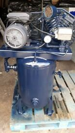 Ingersoll Rand Model B Two Stage Reciprocating Air Compressor single phase