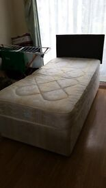 Single (3ft) wide Divan bed Brand New with Mattress