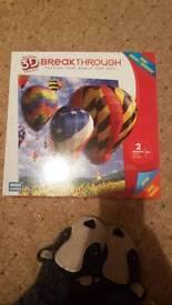Hot air ballon 3d jigsaw