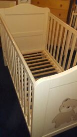 Babies r us loved and adored cotbed cot see description