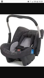 Silver cross baby car seat and isofix base