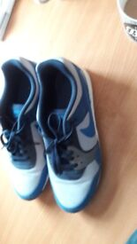 Nike Blue & Gray trainers size 11, Eur 46