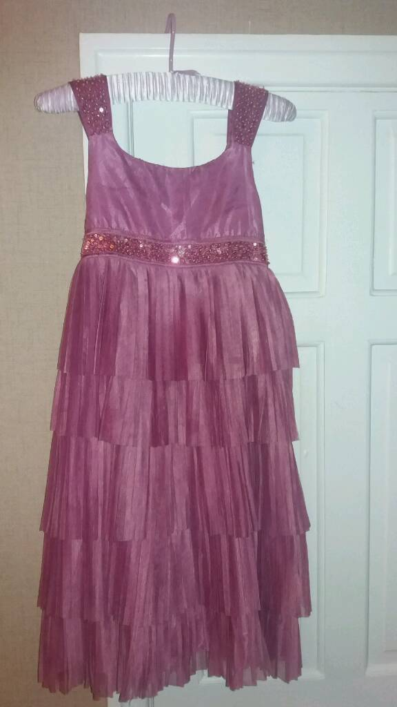 Monsoon pink childs dress age 10/11 | in Great Sutton, Cheshire ...