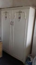 Pair of vintage wardrobes (can be bought separately)
