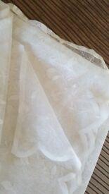 2 x net curtains - excellent condition