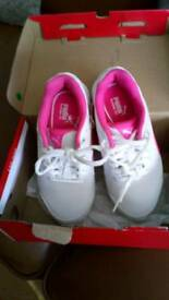Girls Puma trainers Size 12. Brand new