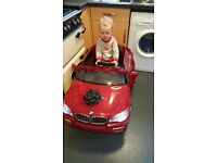 Toddler Electric BMW Car £100 good as new