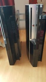 2x faulty ps3 spares or repairs