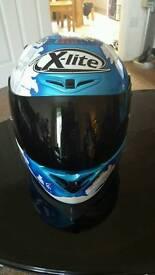 Crash helmet as new