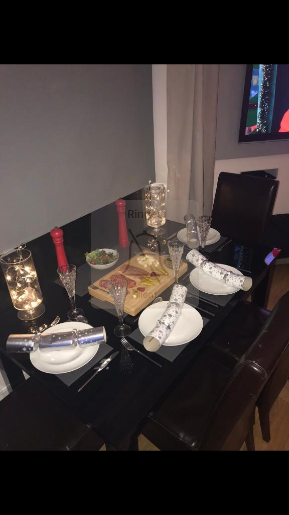 Next Black Gloss Dining Table