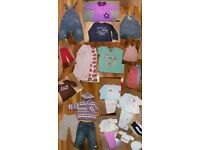 Baby Girl 6-9 months clothes bundle over 20 pieces £20 Next and othet brands