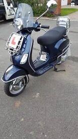 Vespa 125cc 3v scooter