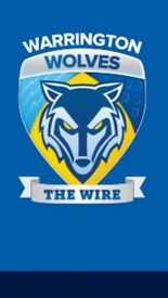 Rugby league season ticket warring wolves