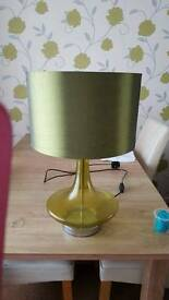 Retro green lamp