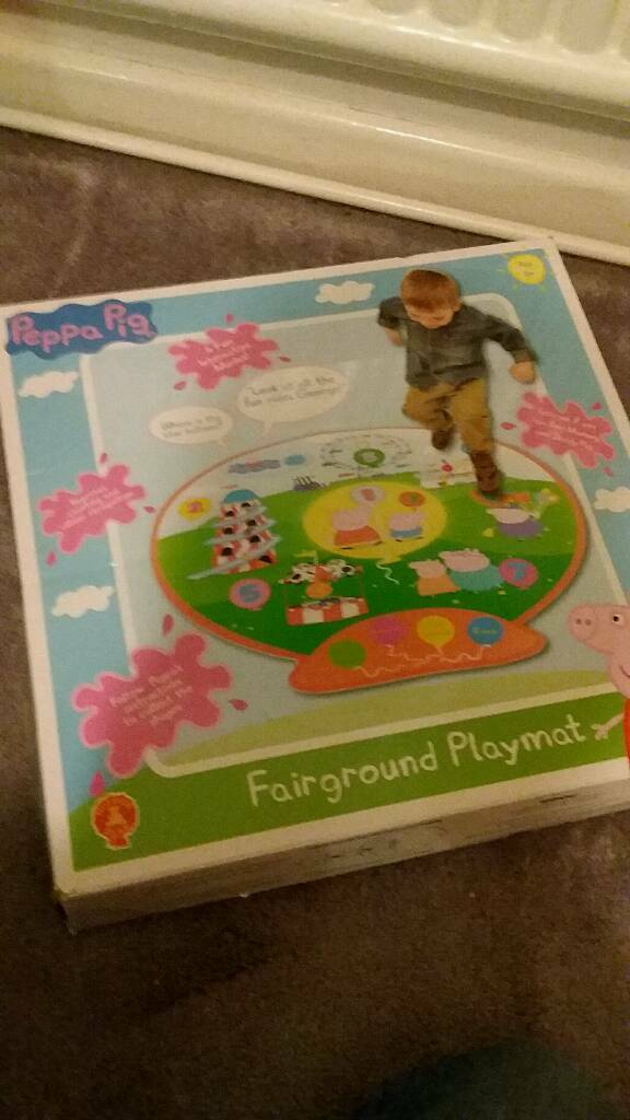 Pepper pig playmat