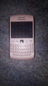 BlackBerry Curve 9360 Sim Free/Unlocked Smartphone - Pink