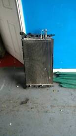 Ford Focus Radiator (complete)