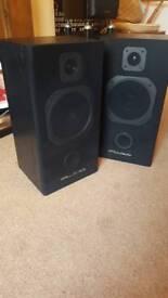 Wharfedale s500 75 watt speakers