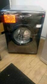 BEKO BLACK 6KG LOAD 1400SPIN WASHING MACHINE