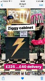 Ziggy Cabinet Cupboard Tallboy Drawers Dresser Storage