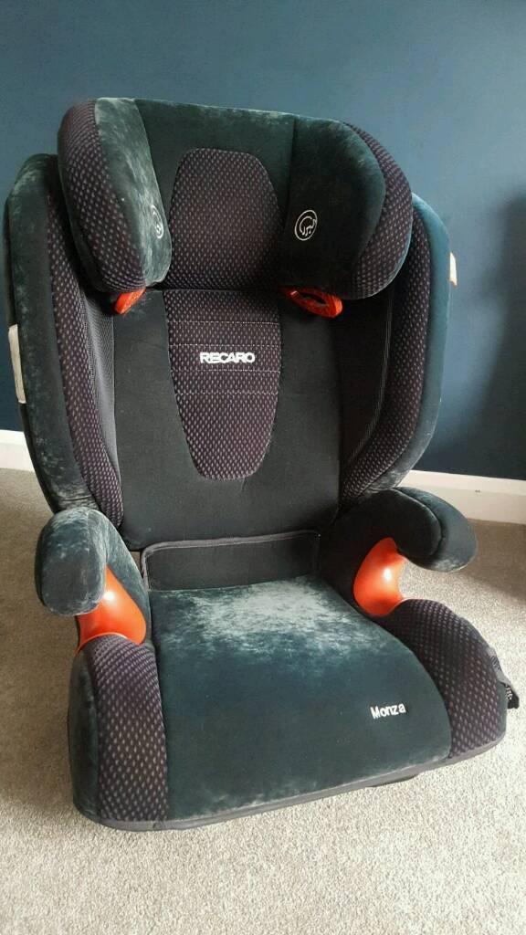 Recaro Monza child isofix car seat