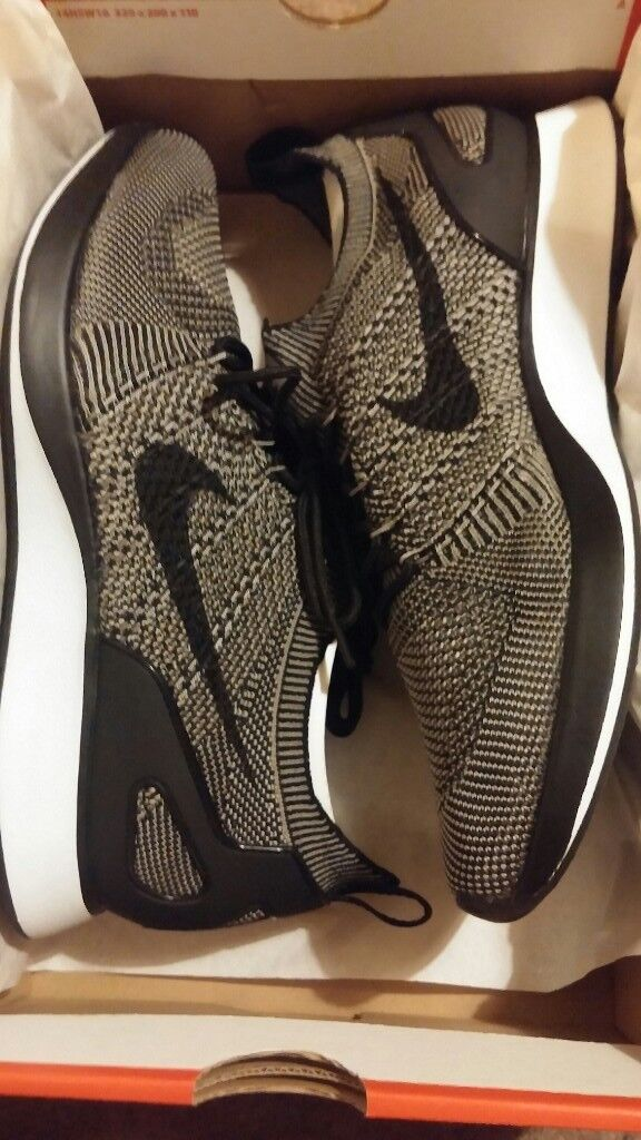 low priced 9f67a fd2d1 Nike Air Zoom Mariah Flyknit Racer Men s Shoe UK Size 9 Charcoal