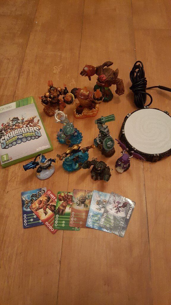 Skylanders Swap Force game, portal and characters for Xbox 360