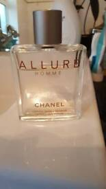 Chanel Allure Homme After shave lotion 50ml.