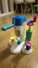 Playdoh ice cream factory toy