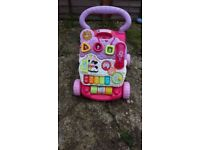 Vtech baby first steps baby walker with phone