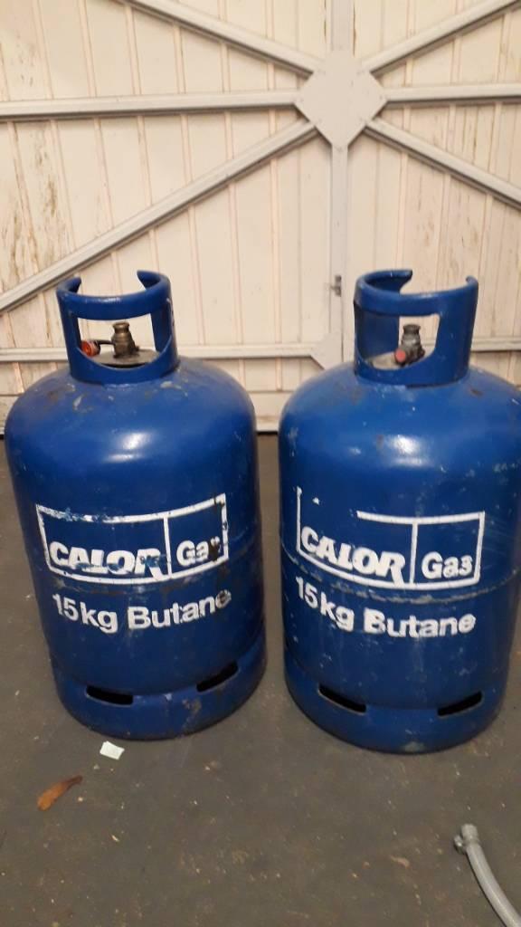 15kg Butane Gas bottles