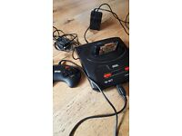 Sega mega working with one controller and game