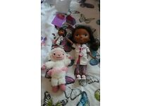 Toys! Talking lambie and doc mcstuffins £10 for both, grab a bargain