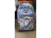 Oilily wheeled small suitcase / backpack ex cond. Available for immediate collection