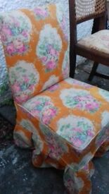 Vintage twill chair