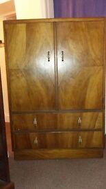 Tallboy cupboard, original 1943
